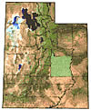 Emery County Location in Utah